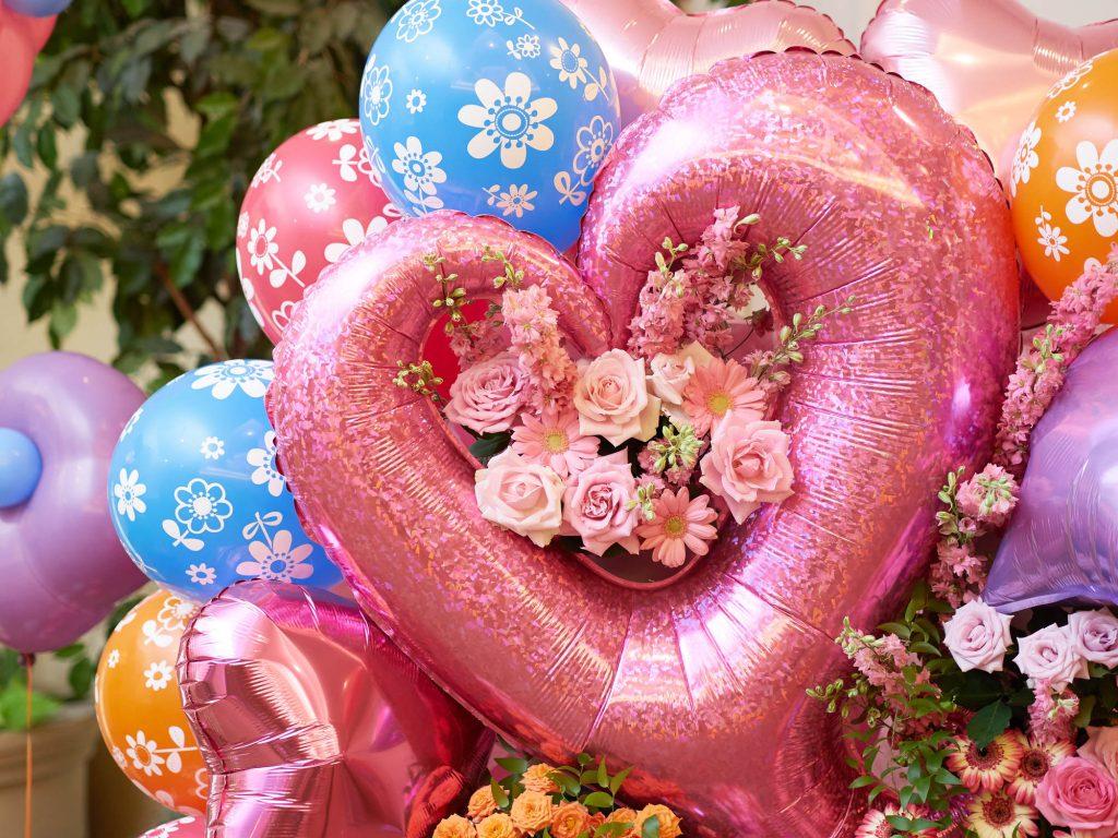 花バルーンギフトはアイデア次第で最高の思い出になる!